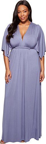 Rachel Pally Women's Plus Size Long Caftan Dress White Label Nimbus Dress