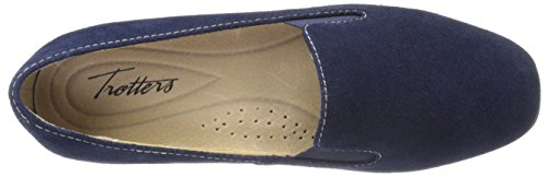 Navy Women's On Lamar Loafer Suede Slip Trotters 8RBZwgq1