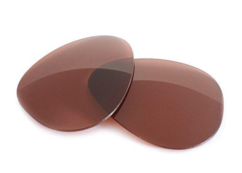 FUSE Amber / Rose F30 Polarized Lenses for Oakley Daisy - Chain Daisy Oakleys