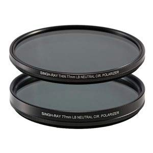 Singh-Ray 77mm LB Neutral Polarizer Filter Thin Mount by Singh-Ray