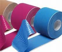PREMIUM Kinesiotape - hochwertiges Kinesiologie Tape - für den anspruchsvollen Einsatz - HÖCHSTE Qualität von SiaMed - für ein intensives Training und eine optimale Behandlung (gelb, 2,5 cm)