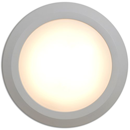 """NEW Round Flush Mount Thin Ceiling Light 