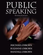 Public Speaking Instructors Annotated Edition (Eighth Edition)