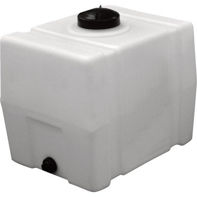 (RomoTech Horizontal Square Polyethylene Reservoir, 50 Gallon)