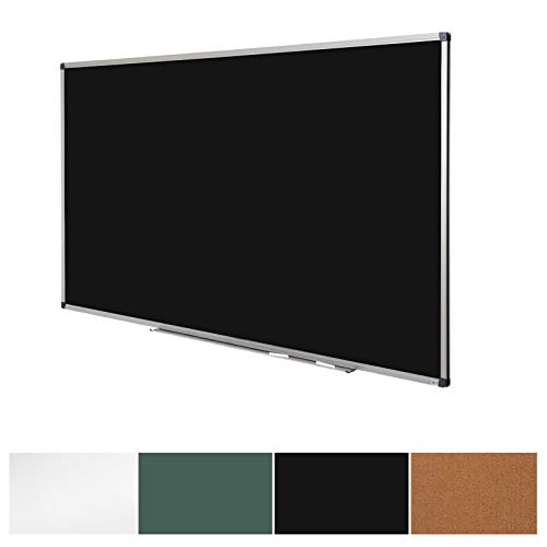 Black Magnetic Chalk Board | Aluminium Framed | Excellent Solution for Art, Notes and Memos | 3 Sizes Available | 44