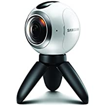 Samsung Gear 360 Spherical VR Camera (SM-C200 ) White - Camera and Stand Only - Renewed