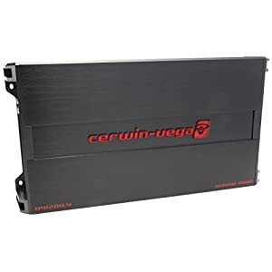 CERWIN VEGA H41200.4 HED 4 Ohms RMS/1200 Watts Max 4-Channel Auto Amplifier