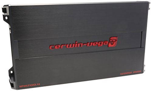 CERWIN VEGA H41200.4 HED 4 Ohms RMS/1200 Watts Max 4-Channel Auto Amplifier Chevrolet C20 Pickup Fan