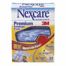 MMM0652HGBP - Premium Bandage Kit, 52/BX, Assorted