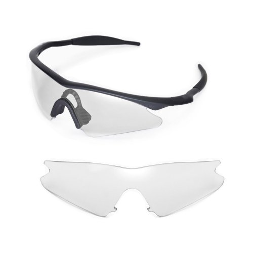 Walleva Replacement Lenses for Oakley M Frame Sweep Sunglasses - Multiple Options Available - Glasses M Frame