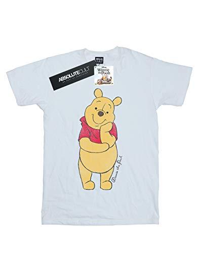 shirt T The Winnie Classic Pooh Blanc Homme Disney Tw7Ypqx1c