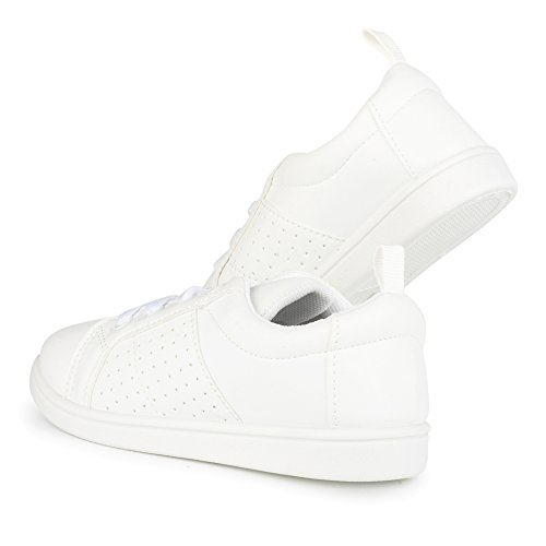 All White Kids Sneakers - 4