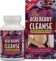 ACAI BERRY CLEANSE TABS Size: 56 (5 Day Acai Berry Cleanse Weight Loss Flush)