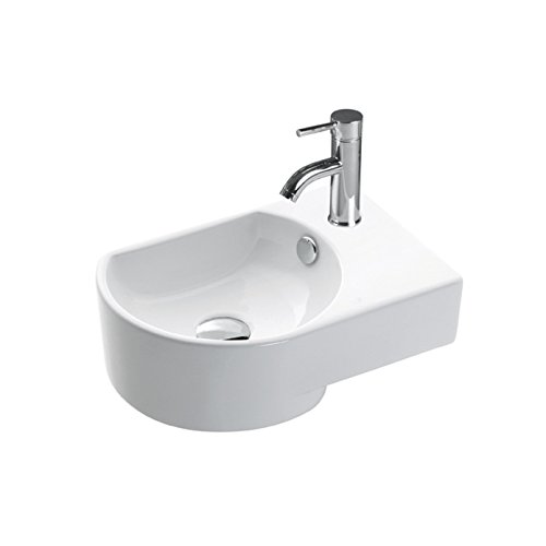 BHD 7017–Ceramic Sink, White by BHD