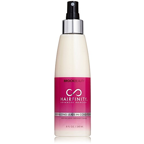 Hairfinity Revitalizing Leave-In Conditioner With Bioactive Hydrolyzed Collagen, MSM & Horsetail To Reduce Breakage & Split Ends 8 oz