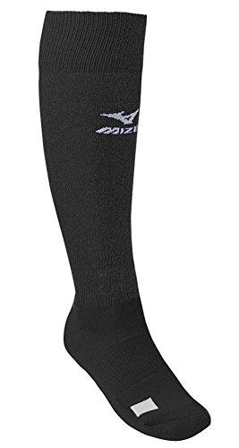 Mizuno Black Adult Performance Athletic (Mizuno Baseball Socks)
