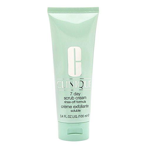 Clinique 7 Day Scrub Cream Rinse Off Formula, 3.4 Ounce