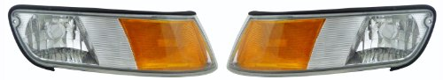 Mercury Grand Marquis 98 99 00 01 02 Corner Light Pair