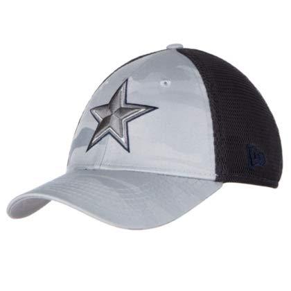 acf1069277783 Amazon.com   Dallas Cowboys New Era Jr Camo Front Neo 39Thirty Cap   Sports    Outdoors