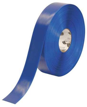 Mighty Line 2RB Floor Tape, 100' Length, 2'' Width, Blue (Pack of 1 Roll)