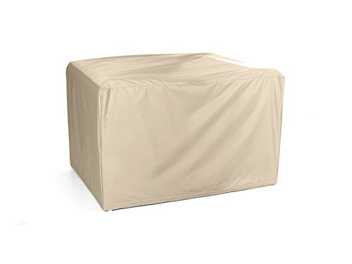 CoverMates – Modular Sectional Club Chair Cover – 38W x 38D x 30H – Elite Collection – 3 YR Warranty – Year Around Protection - Khaki (Outdoor Furniture Club)