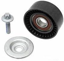 OEM Drive Belt Idler Pulley Tensioner Kit For Mercedes W219 W211 E55 AMG
