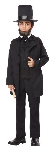 Abe Lincoln Costume (California Costumes Abraham Lincoln/Andrew Jackson Child Costume,)