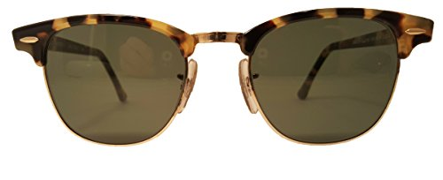 Clubmaster Ray-Ban by Bausch & Lomb New Never Owned Antique Tortoise Limited - Ban Ray Limited