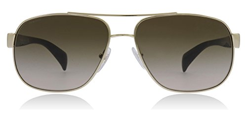 Prada Sunglasses - PR52PS / Frame: Pale Gold Lens: Grey -