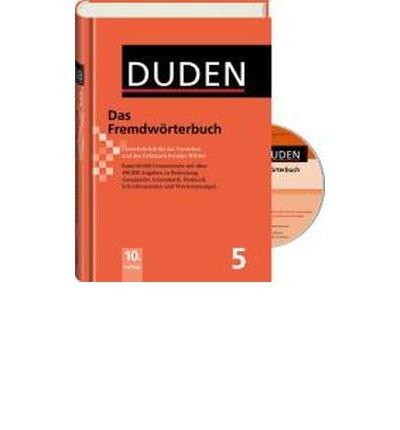 Fremdw?rterbuch - Buch plus CD: Unentbehrlich f?r das Verstehen und den Gebrauch fremder W?rter (Hardback)(German) - Common PDF