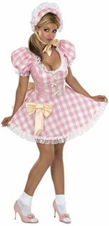 Little Bow Peep Costume Women (Bo Peep Adult Costume - Medium)