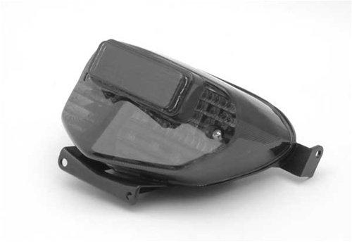 Areyoushop Integrated LED Taillight Turn Signals for Suzuki Gsxr 600/750 2000-2003 Gsxr1000 2001-2002 Smoke