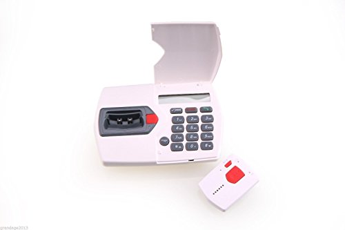 Elderly Medical Alert System - Automatic Fall Detection - 2 Way Voice Talk Through Pendant - No Monthly Fees (Best Medical Alert System With Fall Detection)