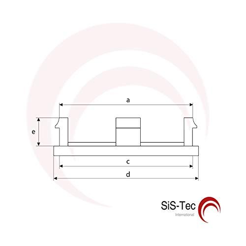5 St/ück T45011 Schwarz NABENKAPPEN NABENDECKEL FELGENDECKEL 54,0 mm
