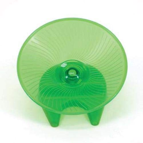 Ware Manufacturing Flying Saucer Exercise Wheel for Small Pets, 7 1/4-Inch - Colors May Vary ()