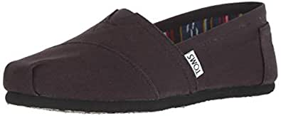 TOMS Womens Classics Black Size: 5