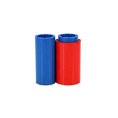Color Ribbon For Zebra P300 P310 P320 P330 Printer 800015-102 Red ()