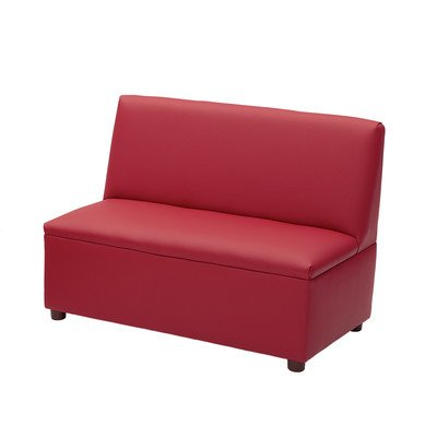 Enviro-Child Modern Casual Upholstery Kids Sofa Color: Deep Red