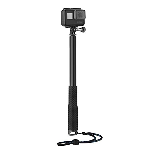 luxebell selfie stick aluminium waterproof telescopic pole monopod for gopro hero 5 4 session. Black Bedroom Furniture Sets. Home Design Ideas
