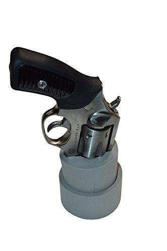 Benchmaster - Weapon Rack - Small Revolver J-Frame Cup Holder Rack - Revolver Holder- Firearm Storage - Vehicle Gun Storage Rack - CCW - Self Defense
