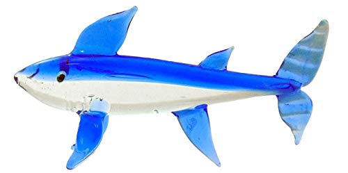 Westman Works Glass Great White Shark Table Decoration Gift Boxed, 6 Inches Long ()