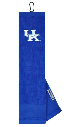 Kentucky Wildcats Face/Club Embroidered Towel (Tri Embroidered Wildcats Fold)