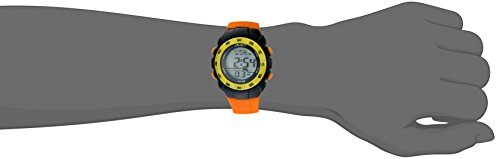 American Design Machine Jr. Kids' ADSG 5001 ORG Phoenix Digital Display Quartz Orange Watch