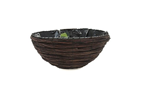 Master Garden Products Willow Hanging Tub, 14 by 9-Inch