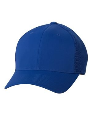 Flexfit - Ultrafiber Cap with Air Mesh Sides - 6533 - L/XL - Royal Blue (Crown Royal Cap)