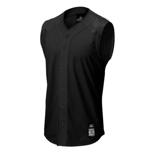Mizuno 350520.9090.03.XS Elite Mesh Game Jersey Sleeveless XS Black ()