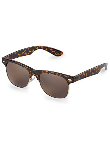 True Nation by DXL Big and Tall Met Retro - And Big Tall Sunglasses