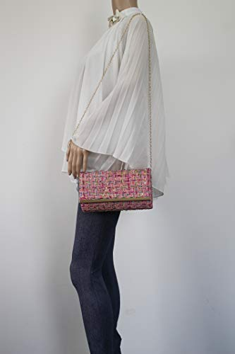 Ragged Womens Weave Charlotte Party SWANKYSWANS Bag Pink Clutch EqSPnO7p
