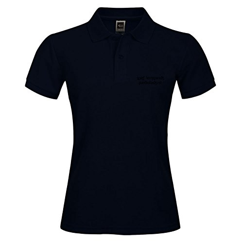 Black Casual Collar Polo Shirt For Women With Slp Ipa Adult Breathable Small - Outlet Online Armani