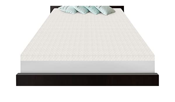 SensorPEDIC Slumber Supremo (5-zoned memoria colchón de espuma Topper, Full, blanco: Amazon.es: Hogar